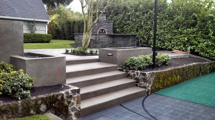 Outdoor Kitchen , Pizza Oven, Landscape Design